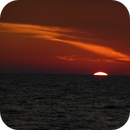 Sunset at the Sea in Croatia,                                nonsens2