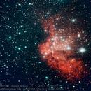 NGC7380 - Wizard Nebula,                                Paul Hutchinson