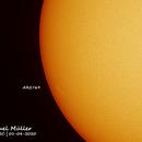 Sun and AR-2769,                                Samuel Müller