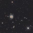 Berenice and her galaxy,                                Thomas LELU