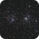 Double Cluster NGC884, NGC869,                                Thomas Richter
