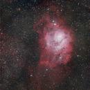 Lagoon Nebula - Messier 8,                                Samuel Müller