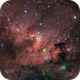 Sh2-155 - Cave Nebula HaRGB,                                regis83