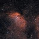 The Tulip Nebula in HOO,                                Alex Roberts