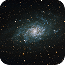 Galaxie du Triangle - M33,                                martial_julian