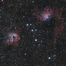 IC 405, IC410 and IC 417 Wide field,                                Riedl Rudolf