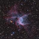 NGC2359 - Thor's Helmet Nebula in Canis Major,                                Stellario