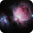 M42 Orion Nebula   from city center and fog [WinP],                                Eddy9000