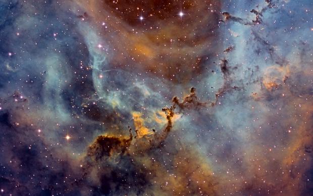 East part Caldwell 49 - in the Rosette Nebula,                                Arnaud Peel