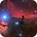 The Horsehead and Flame Nebula - TOA-150 Test,                                Connor Matherne