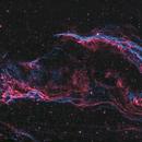 Western Veil Nebula + Pickering's triangle,                                Bjoern Schmitt