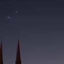 Rendez-vous Vénus-Jupiter,                                Etienne-Elme