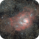 Messier 8 - Lagoon Nebula,                                Felix