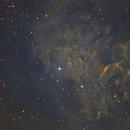 IC405 Narrow Band,                                Emilio Zandarin
