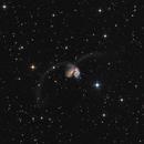 Antennae Galaxies NGC4038 & NGC4039 LRGB,                                TWFowler