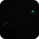 Comet C/2014 Q2 Lovejoy with the ET Cluster, NGC 457,                                Steven Bellavia