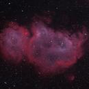 Soul Nebula (IC1848) in HOO,                                astronate