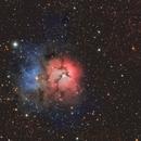 M20 - Trifid Nebula,                                JD