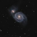 Messier 51  - The Whirlpool galaxy,                                Jason R Wait