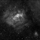 NGC7635 Bubble nebula and surroundings (Ha),                                Fabio Papa