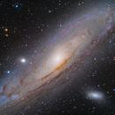 M31~HaLRGB,                                Fluorine Zhu