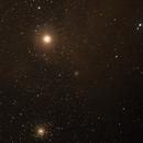 M4 with the Star Antares,                                Jirair Afarian