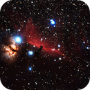 Horsehead and Flame Nebulas,                                Stacy Spear