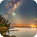 Sunrise and Milky Way,                                Andrew Murrell