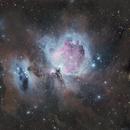 Molecular clouds around Orion,                                  Robert Huerbsch