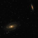 Bode's Galaxy and Cigar Galaxy,                                Tyler Black