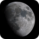 The Waxing Gibbous Moon in RGB,                                drivingcat