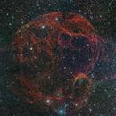 The Spaghetti nebula,                                John Sim
