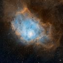 Lagoon Nebula - NGC 6523,                                Marcelof