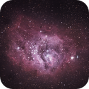 Lagoon Nebula 23.08.2020,                                Astrogirl.Au
