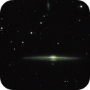 ngc4565 of 1st and 2nd April 2020 with color applied,                                Stefano Ciapetti