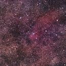 NGC6823 region, Canon 6D full spectrum on Skywatcher 100ED Esprit super APO,                                Kees Scherer