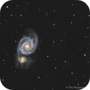 M51, with only 10min for each RGB,                                RononDex