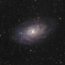 M33 (la galaxie du triangle),                                Matthieu BUI