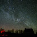 Night sky stars observation,                                  Vital