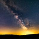 Milky Way Rising,                                Björn Hoffmann
