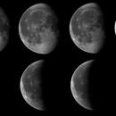 Mond 7.8.2020 bis 14.8.2020,                                BergAstro