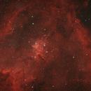 Central part of the Heart Nebula (IC1805),                                Francesco
