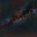 Milky Way in Cygnus,                                paul