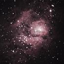 Lagoon Nebula,                                nkerman