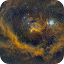 The Barnard's Loop and the Heart of Orion in SHO,                                  Cfosterstars