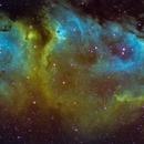 IC 1848 Soul nebula SHO,                                Jürgen Ehnes