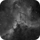 Interstellar Dust in IC 1805 Heart Nebula,                                  Barczynski
