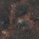 IC 1805 Heart Nebula & IC 1795 Fish Head Nebula,                                star-watcher.ch