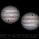 Jupiter at opposition - 9 May 2018 12:44 UTC,                    Seb Lukas