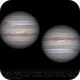 Jupiter at opposition - 9 May 2018 12:44 UTC,                                Seb Lukas